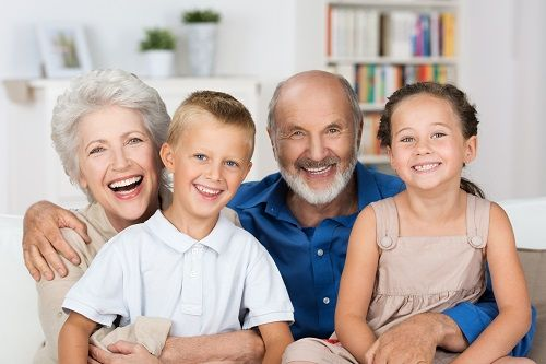 Grandparents with visitation rights
